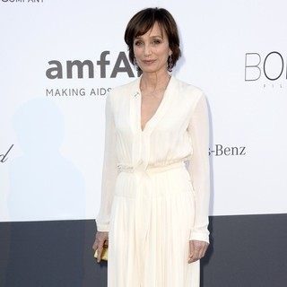 Kristin Scott Thomas in 66th Cannes Film Festival - amfAR's 20th Annual Cinema Against AIDS - Arrivals - kristin-scott-thomas-amfar-s-20th-annual-cinema-against-aids-05
