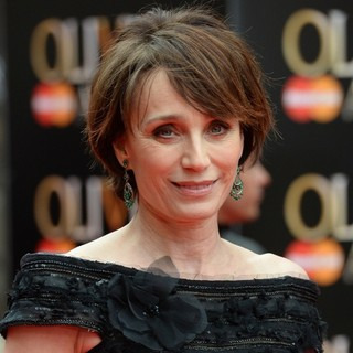 Kristin Scott Thomas in The Olivier Awards 2013 - Arrivals - kristin-scott-thomas-olivier-awards-2013-01