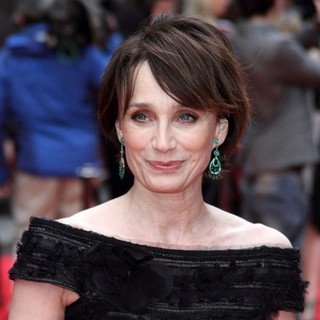 Kristin Scott Thomas in The Olivier Awards 2013 - Arrivals - kristin-scott-thomas-olivier-awards-2013-02