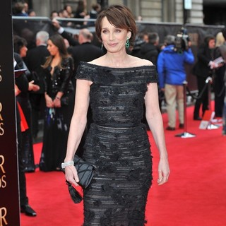 Kristin Scott Thomas in The Olivier Awards 2013 - Arrivals - kristin-scott-thomas-olivier-awards-2013-03