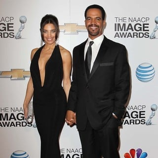 Kristoff St. John in The 44th NAACP Image Awards