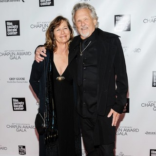 Lisa Meyers, Kris Kristofferson in 40th Anniversary Chaplin Award Gala Honoring Barbra Streisand