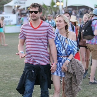 Joshua Jackson, Diane Kruger in Celebrities at The 2012 Coachella Valley Music and Arts Festival - Day 3