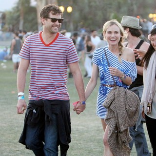 Diane Kruger - Celebrities at The 2012 Coachella Valley Music and Arts Festival - Day 3