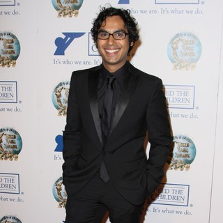 Kunal Nayyar in 2009 World Magic Awards