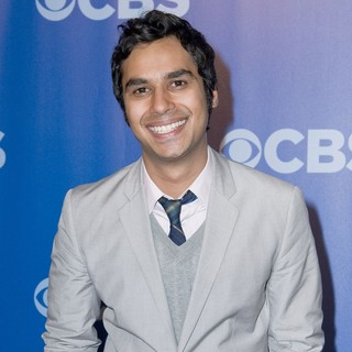 Kunal Nayyar in CBS Upfronts for 2010-2011 Season