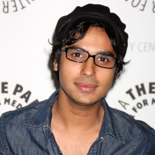 Kunal Nayyar in The Big Bang Theory PaleyFest 2009 Event
