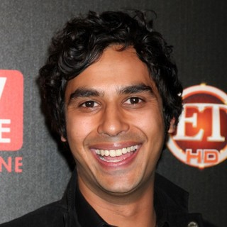 Kunal Nayyar in The TV Guide Magazine Sexiest Stars Party