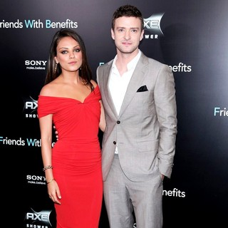 Mila Kunis, Justin Timberlake in New York Premiere of Friends with Benefits - Arrivals