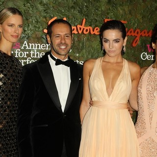 Karolina Kurkova, Massimiliano Giornetti, Camilla Belle, Freida Pinto in Opening Night Gala of The Wallis Annenberg Center for The Performing Arts