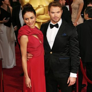 Olga Kurylenko, Kellan Lutz in The 86th Annual Oscars - Red Carpet Arrivals