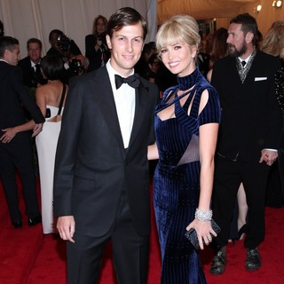 Jared Kushner, Ivanka Trump in Schiaparelli and Prada Impossible Conversations Costume Institute Gala