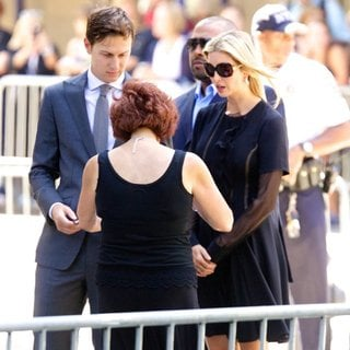 Jared Kushner, Ivanka Trump in Joan Rivers Memorial Service