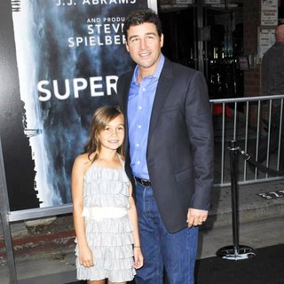 Sawye Chandler, Kyle Chandler in Los Angeles Premiere of Super 8