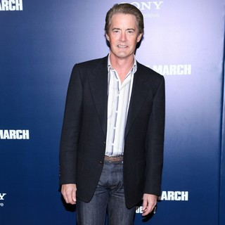 Kyle MacLachlan in New York Premiere of The Ides of March - Arrivals