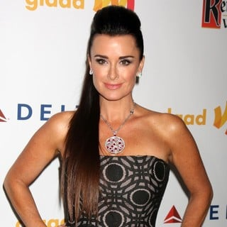 Kyle Richards in The 23rd Annual GLAAD Media Awards