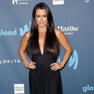Kyle Richards in 24th Annual GLAAD Media Awards - Arrivals - kyle-richards-24th-annual-glaad-media-awards-04