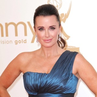 Kyle Richards in The 63rd Primetime Emmy Awards - Arrivals