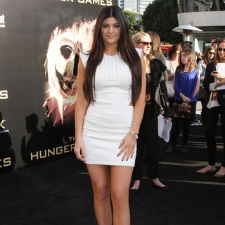 Kylie Jenner in Los Angeles Premiere of The Hunger Games - Arrivals