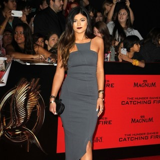 Kylie Jenner in The Hunger Games: Catching Fire Premiere