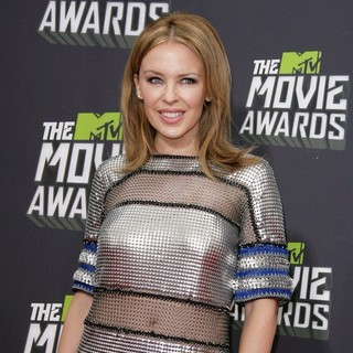 Kylie Minogue in 2013 MTV Movie Awards - Arrivals