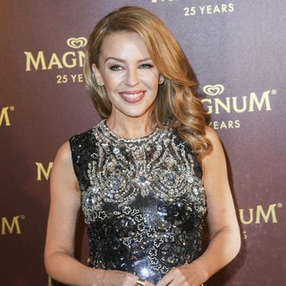 Kylie Minogue - Magnum 25th Anniversary Party - Cannes Film Festival 2014