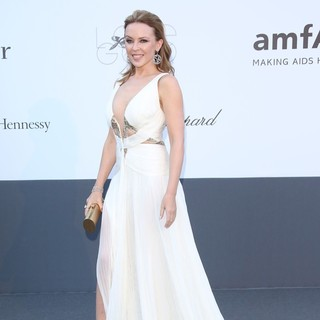 Kylie Minogue in 66th Cannes Film Festival - amfAR's 20th Annual Cinema Against AIDS - Arrivals