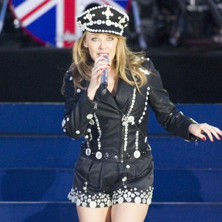 Kylie Minogue in The Diamond Jubilee Concert