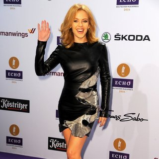 Kylie Minogue - ECHO Music Award 2014 - Arrivals