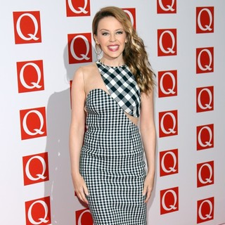 Kylie Minogue in The Q Awards 2012 - Arrivals