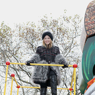 Kylie Minogue in 84th Macy's Thanksgiving Day Parade
