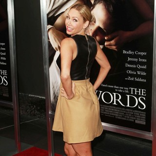 Kym Johnson in The Premiere of CBS Films' The Words - Red Carpet