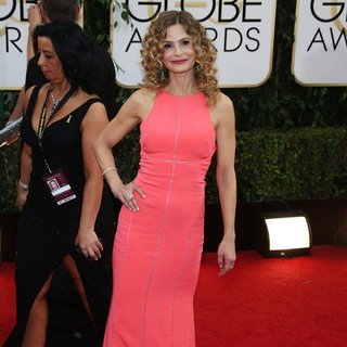 Kyra Sedgwick in 71st Annual Golden Globe Awards - Arrivals
