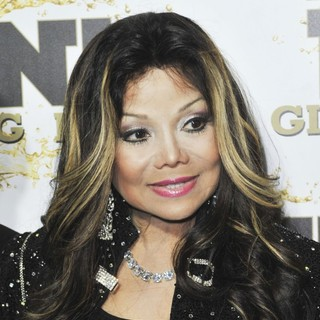 La Toya Jackson in Mr. Pink's Ginseng Energy Drink Launch - Arrivals