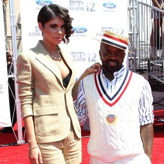 Leah LaBelle, Jermaine Dupri in The BET Awards 2012 - Arrivals