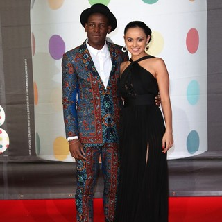 Labrinth in The 2013 Brit Awards - Arrivals - labrinth-2013-brit-awards-01