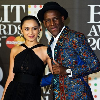 Labrinth in The 2013 Brit Awards - Arrivals - labrinth-2013-brit-awards-03