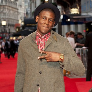 Labrinth in The Sweeney UK Film Premiere - Arrivals - labrinth-uk-premiere-the-sweeney-02