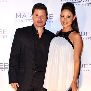 Nick Lachey, Vanessa Minnillo in The Launch of The Marquee Nightclub - Arrivals