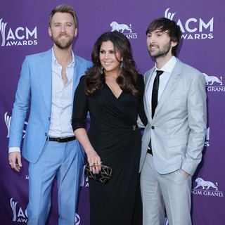 Lady Antebellum in 2012 ACM Awards - Arrivals