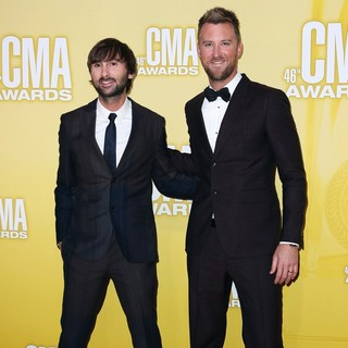 Dave Haywood, Charles Kelley, Lady Antebellum in 46th Annual CMA Awards