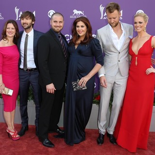 Lady Antebellum, Kelli Cashiola, Chris Tyrrell, Cassie McConnell in 48th Annual ACM Awards - Arrivals