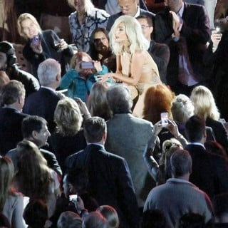 Lady GaGa in A Decade of Difference Concert Celebrating 10 Years of The William J. Clinton Foundation