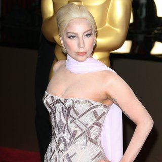 Lady GaGa in The 86th Annual Oscars - Red Carpet Arrivals