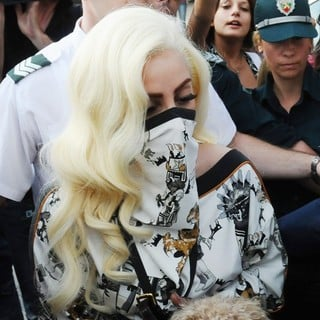 Lady GaGa in Lady GaGa Arrives in Bulgaria for Her European Tour