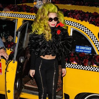 Lady GaGa in Lady GaGa Arrives at Roseland Ballroom