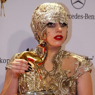Lady GaGa in Bambi 2011 Awards - Press Room