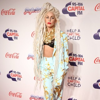 Lady GaGa in The Capital FM Jingle Bell Ball 2013 - Day 2 - Arrivals