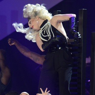 Lady GaGa in Children in Need Rocks Manchester 2011