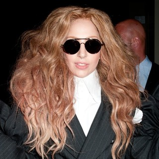 Lady GaGa in Lady GaGa Departs Fashion Media Awards